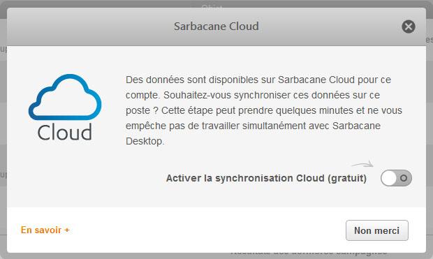 Screen Sarbacane Desktop - POPIN CLOUD