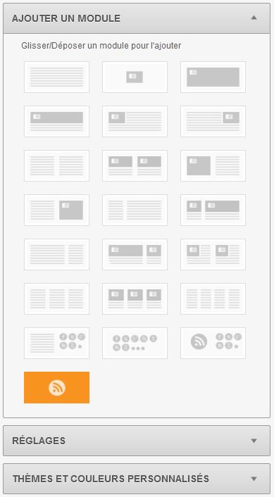 Screen Sarbacane Desktop - Module RSS